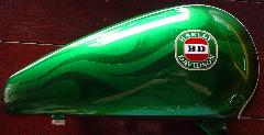 Candy Apple Green with VB beer logo airbrushed overlay