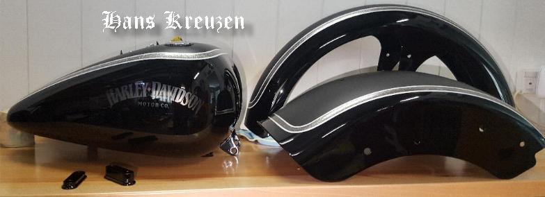 Custom Paint Harley